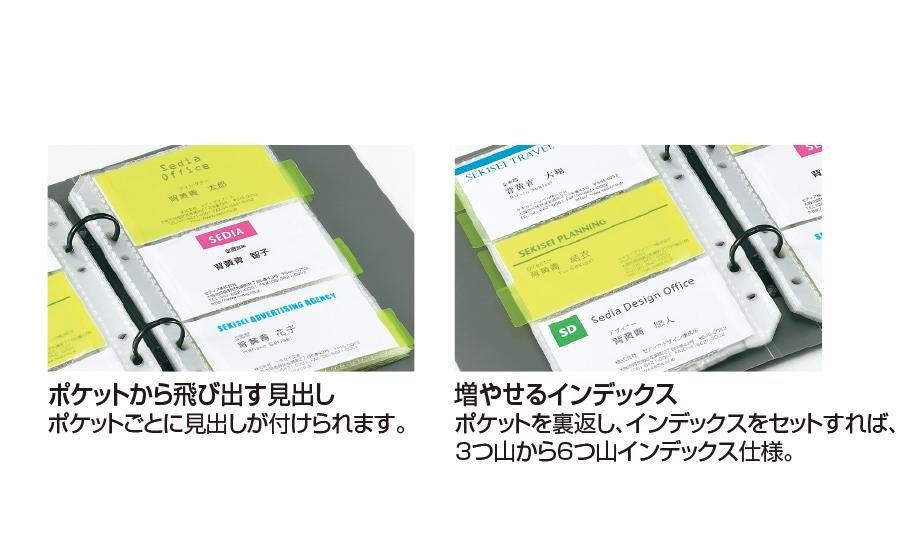 ザ・カード システムカードホルダー 差替式