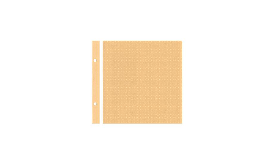 ホックアルバム用スペア台紙〈スケッチフリー〉
