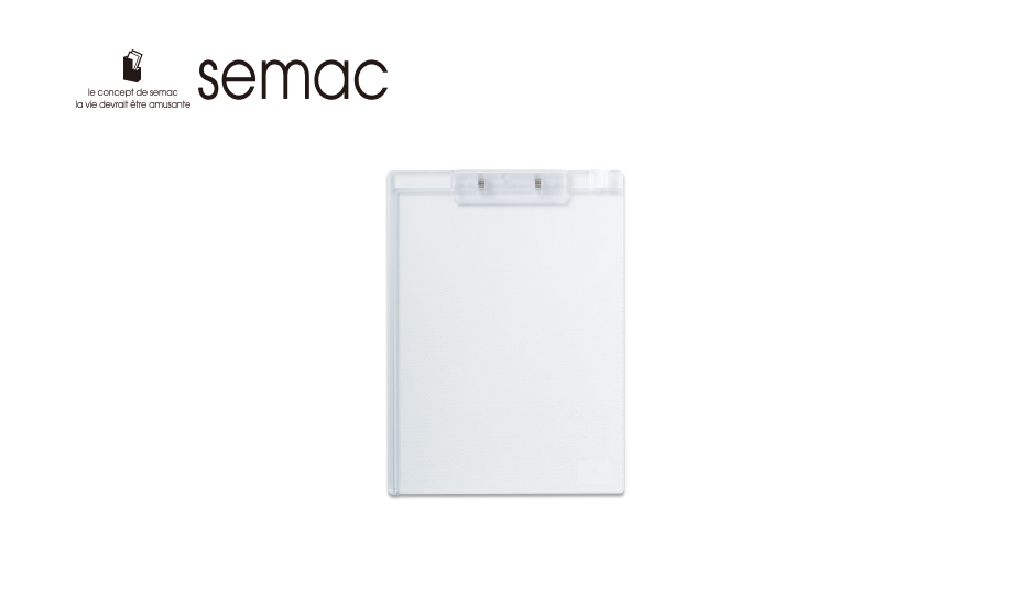 セマック® クリップボード A4